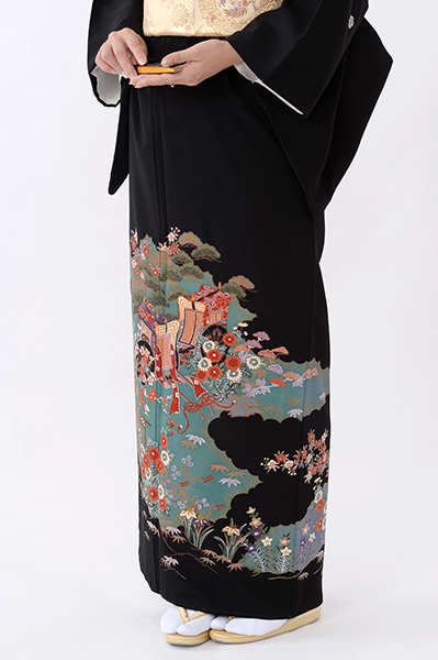福岡黒留袖KT-062