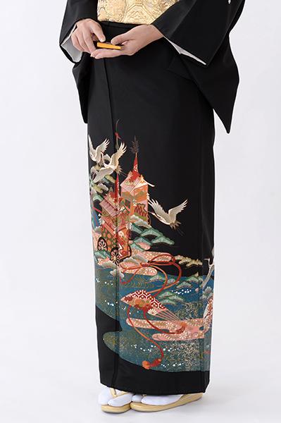 福岡黒留袖KT-065