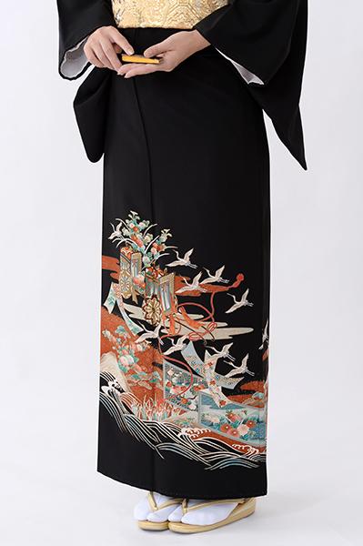 福岡黒留袖KT-4067