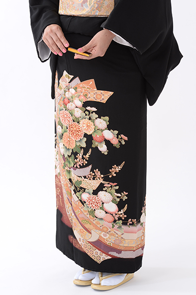 福岡黒留袖KT-078