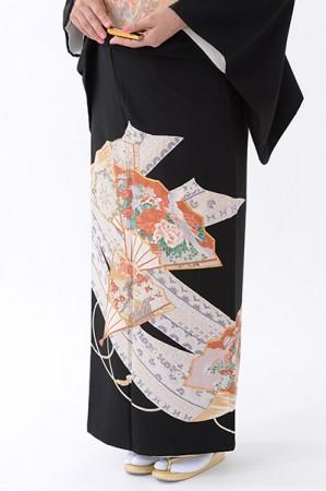 福岡黒留袖KT-4081