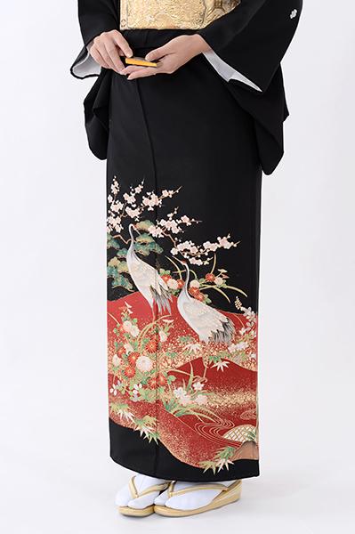 福岡黒留袖KT-4507