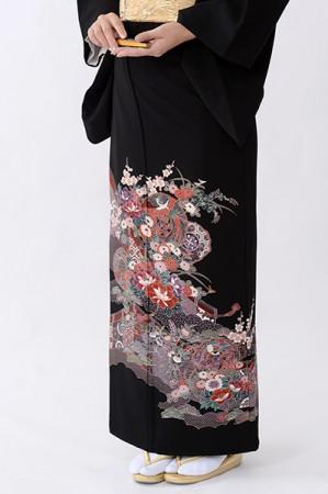 福岡黒留袖KT-4509