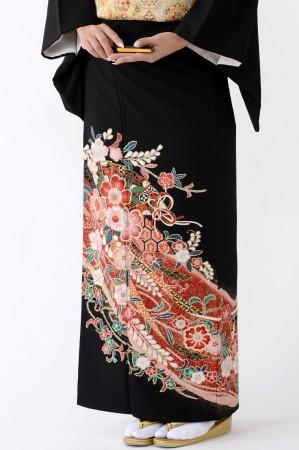 福岡黒留袖KT-038