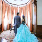福岡,和装,洋装,前撮り,結婚式当日,,福岡・貴賓館