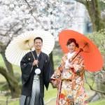 熊本,和装,洋装,前撮り,結婚式当日,,桜熊本城前撮りプラン-07