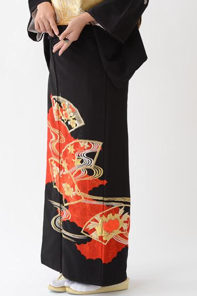 福岡黒留袖KT-3005