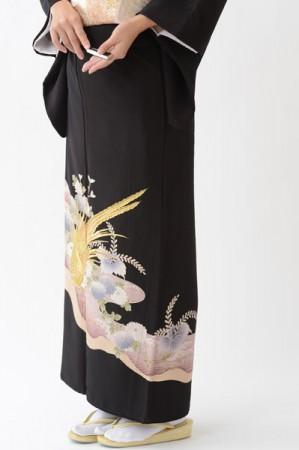 福岡黒留袖KT-006