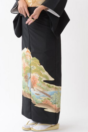 福岡黒留袖KT-007