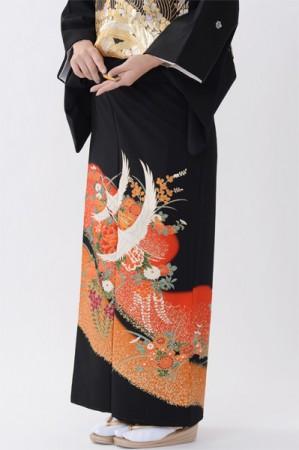 福岡黒留袖KT-4019