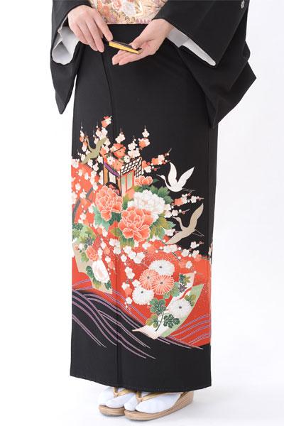 福岡黒留袖KT-4029