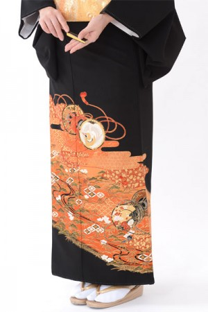 福岡黒留袖KT-4030