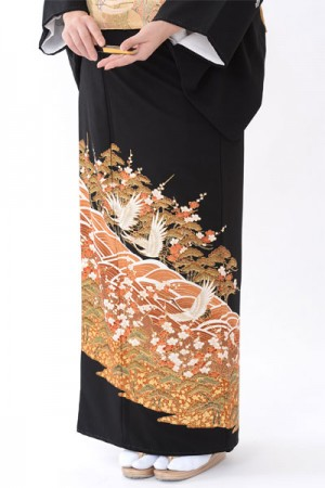 福岡黒留袖KT-4033
