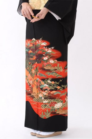 福岡黒留袖KT-036