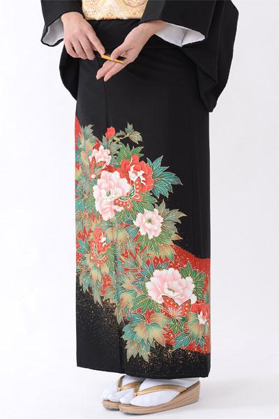 福岡黒留袖KT-4037