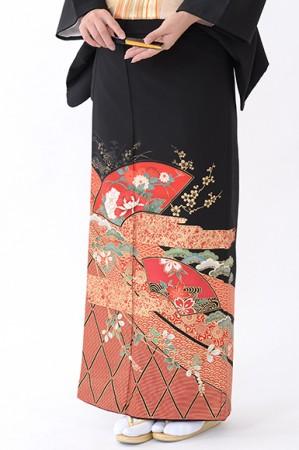福岡黒留袖KT-4048