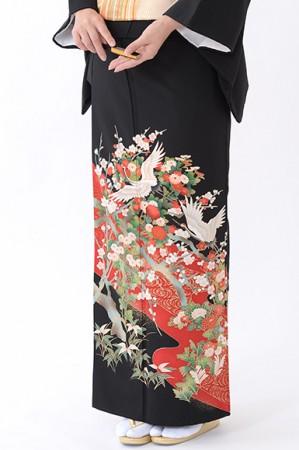 福岡黒留袖KT-4050