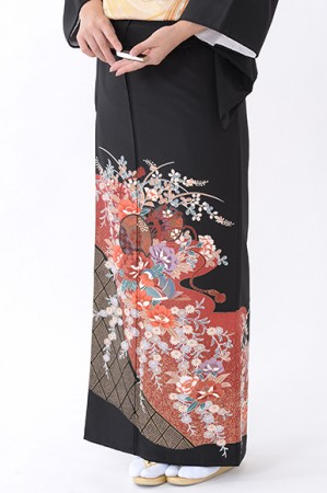 福岡黒留袖KT-4051