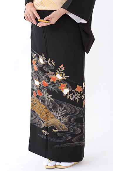 福岡黒留袖KT-053