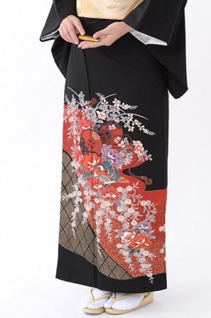 福岡黒留袖KT-4058
