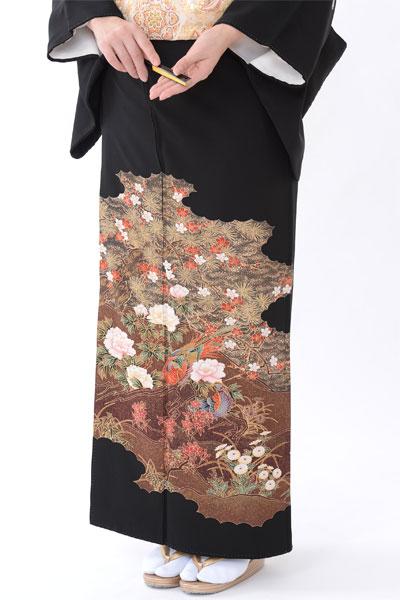福岡黒留袖KT-4502