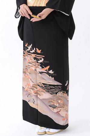 福岡黒留袖KT-4505