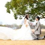 熊本,鹿児島,宮崎,和装,洋装,前撮り,結婚式当日,,熊本城ドレス前取り
