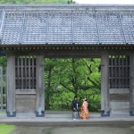 鹿児島,和装,洋装,前撮り,結婚式当日,,鹿児島石橋記念公園01