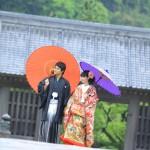 鹿児島,和装,洋装,前撮り,結婚式当日,,鹿児島石橋記念公園07