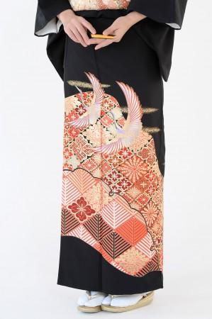 熊本黒留袖036