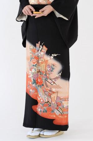 熊本店黒留袖KUKT–045