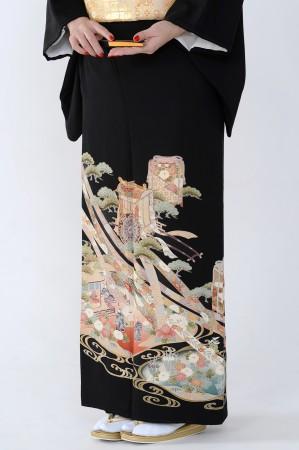 熊本店黒留袖KUKT–048