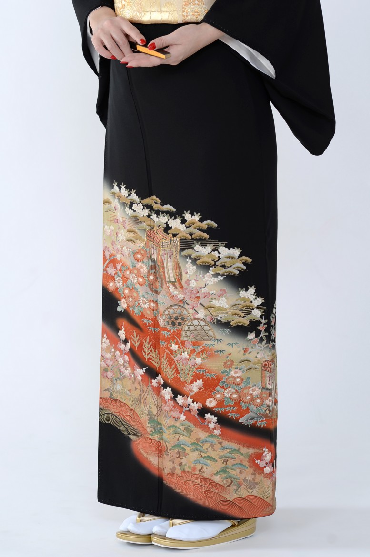 熊本店黒留袖KUKT–053
