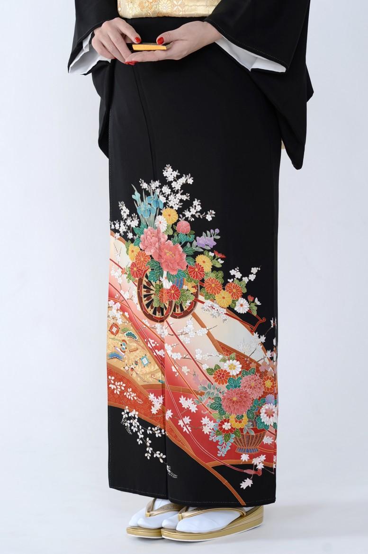 熊本店黒留袖KUKT–061