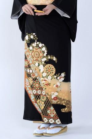 熊本黒留袖074