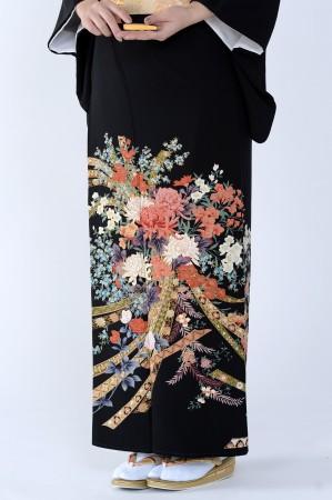 熊本黒留袖075