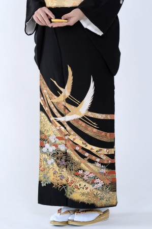 熊本店黒留袖KUKT–488