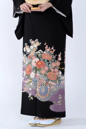 熊本店黒留袖KUKT–091