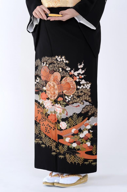 熊本店黒留袖KUKT–499