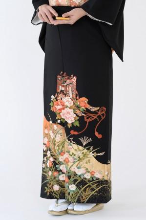 福岡黒留袖KT-4516