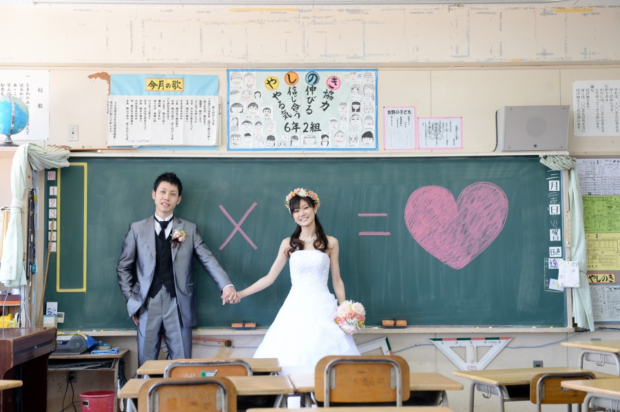 同級生婚・母校前撮りプラン