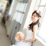北九州,福岡,長崎,山口,佐賀,大分,和装,洋装,前撮り,結婚式当日,,母校廊下