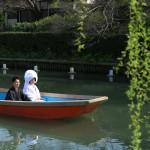 熊本,和装,洋装,前撮り,結婚式当日,,柳川川下り2