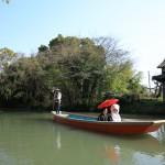 熊本,和装,洋装,前撮り,結婚式当日,,柳川川下り番傘