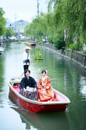 福岡 柳川川下り前撮りプラン-