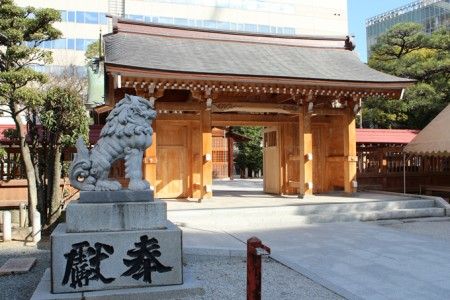 福岡・警固神社