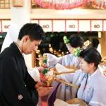 熊本,鹿児島,宮崎,和装,洋装,前撮り,結婚式当日,,挙式風景