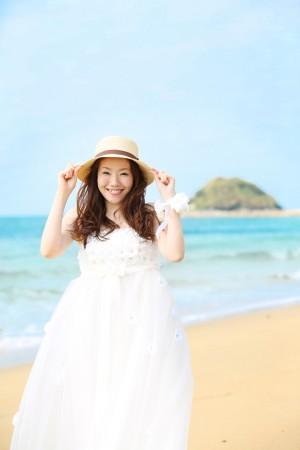 早朝海ロケーション 10,000円割引キャンペーン-福岡・熊本 海ロケーション ドレス02
