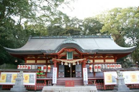 大分・八幡朝見神社