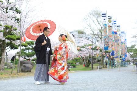福岡 神社前撮りプラン-三柱神社・柳川市